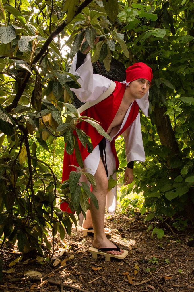 Jigo Cosplay from Mononoke Hime